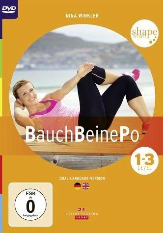 DVD »Shape Secrets - Bauch, Beine, Po, Level 1-3«