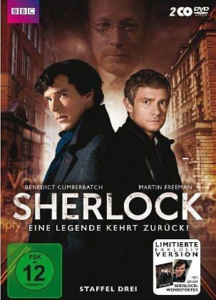 DVD »Sherlock - Staffel 3 - Special Edition mit...«