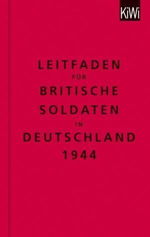 Gebundenes Buch »Leitfaden für britische Soldaten in...«