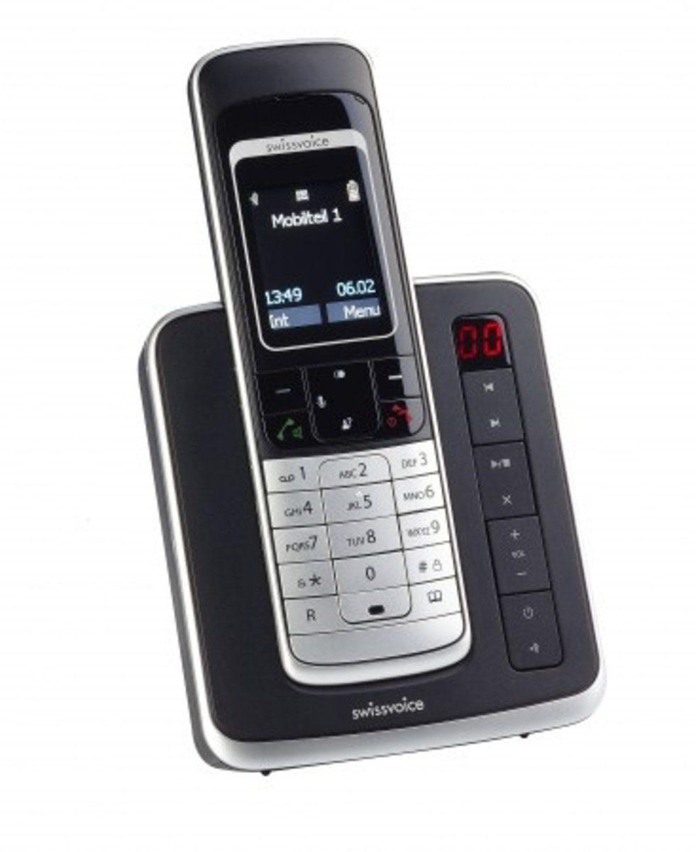 Swissvoice Telefon analog schnurlos »Avena 479 TAM Full Eco Mode«