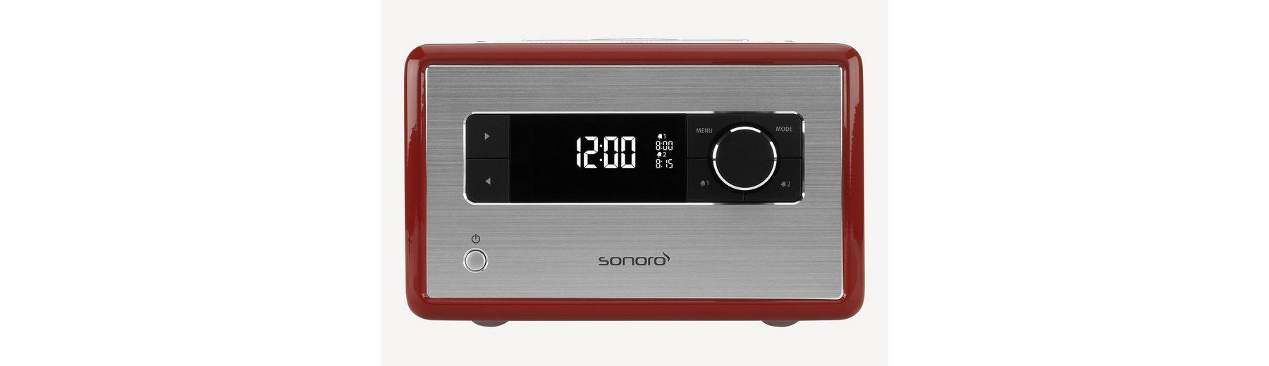 sonoro Digitalradio mit Bluetooth »RADIO Rot«