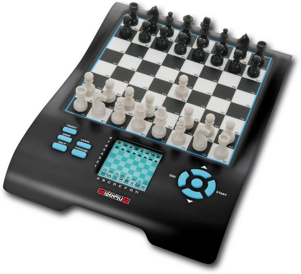 Millennium Schachcomputer »Europe Chess Master II« in schwarz