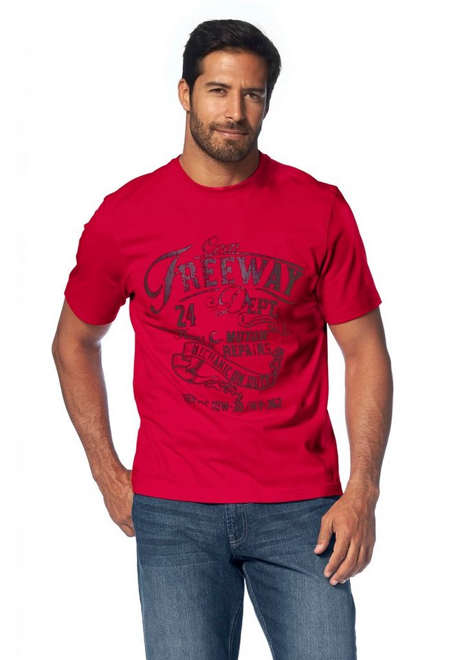 Man's World T-Shirt in rot