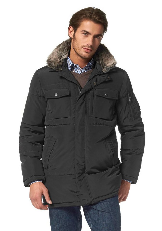 Class International Parka in schwarz
