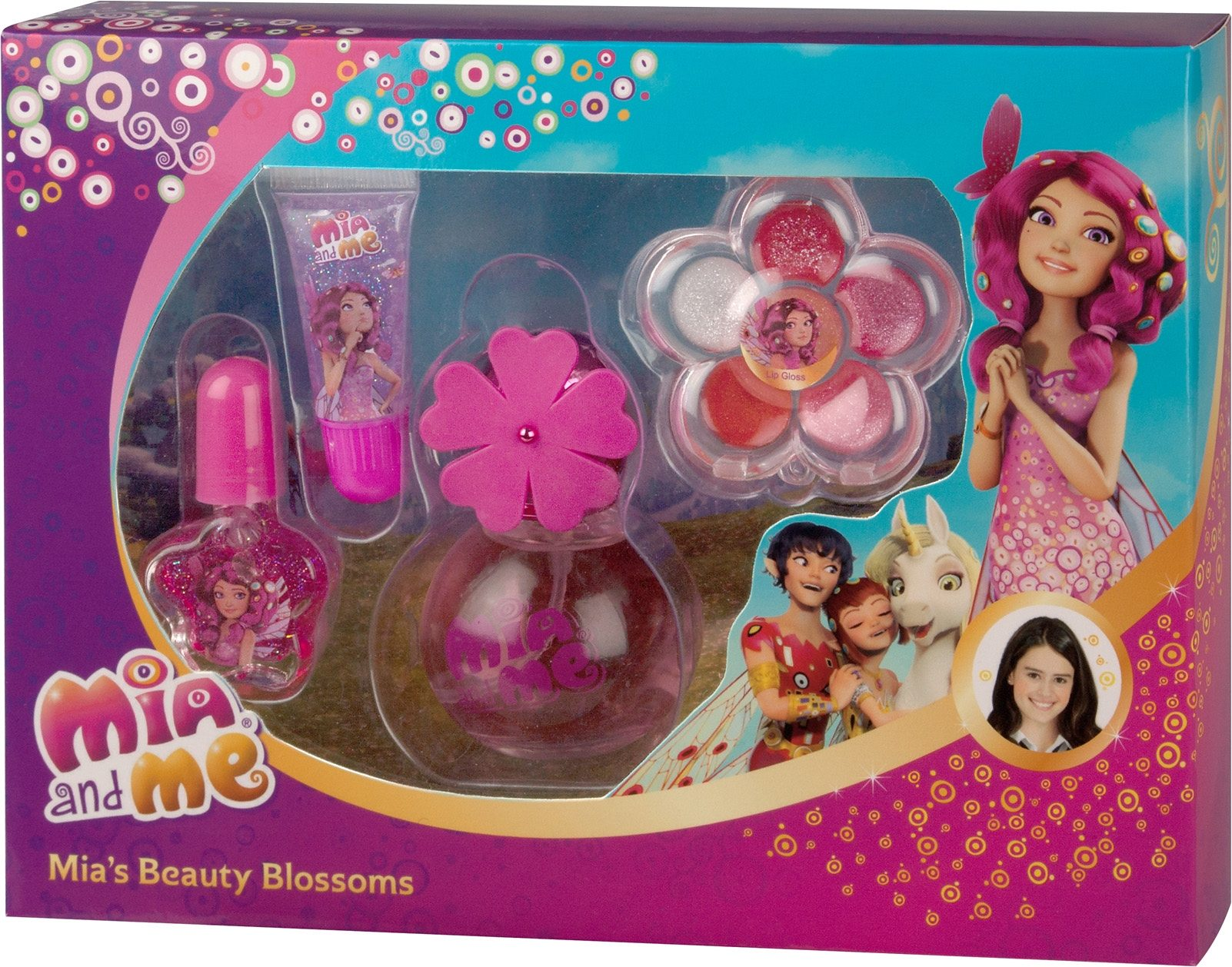 Mia and me, »Mia`s Beauty Blossoms«, Beauty-Set (4-tlg.)
