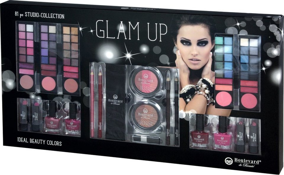 »Glam Up«, Schminkbox (81-tlg.)