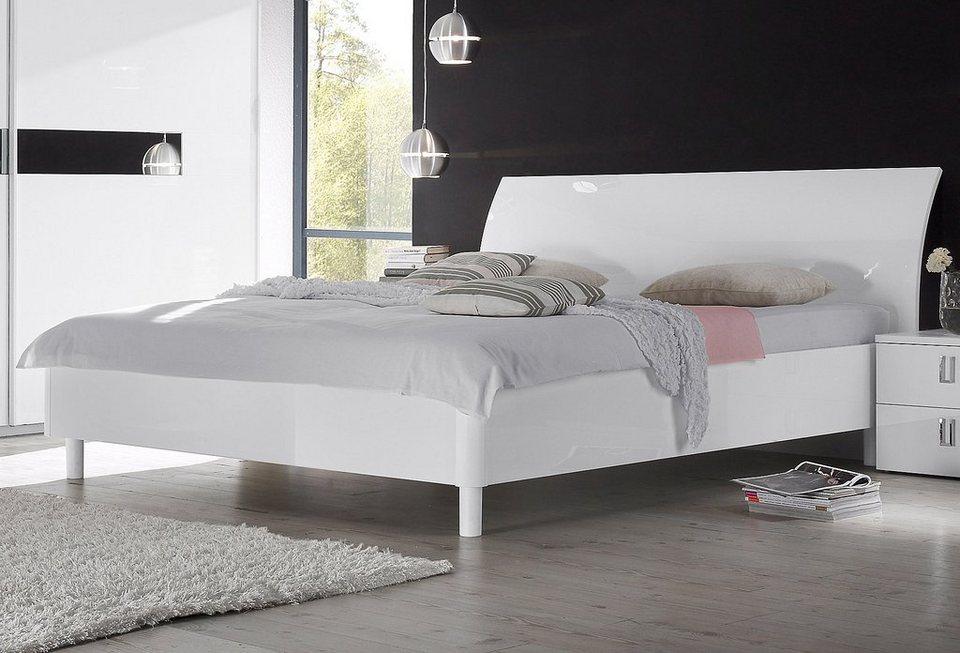 LC Bett in weiß