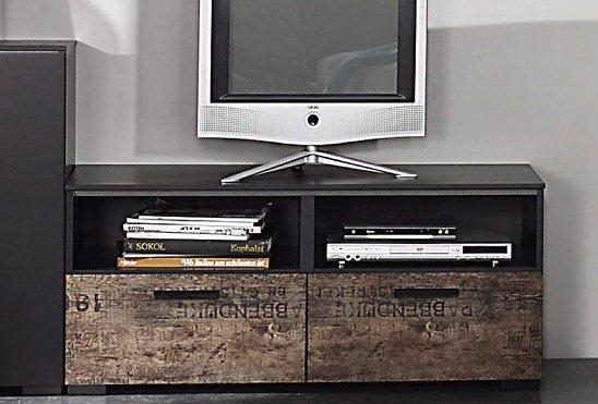 rauch TV-Kommode in schwarz/braun