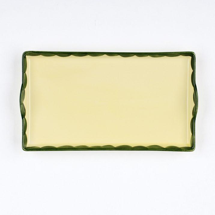 Zeller Keramik Tablett »Hahn und Henne«