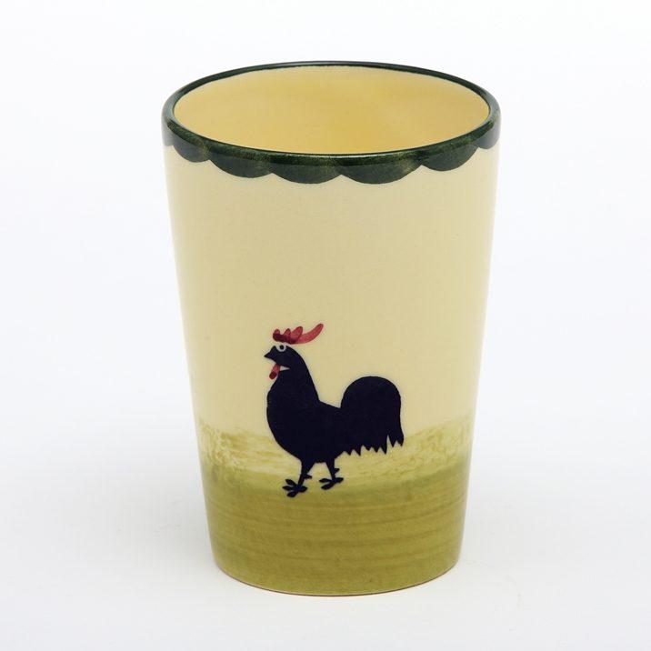 Zeller Keramik Milchbecher »Hahn und Henne«