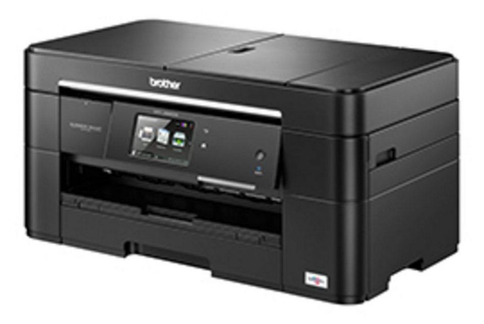 Brother Tintenstrahl-Multifunktionsdrucker »MFC-J5620DW 4in1« in Schwarz