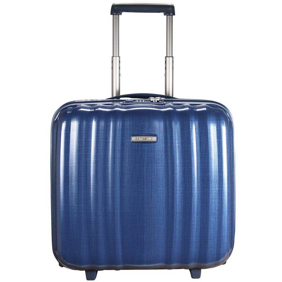 Samsonite Lite-Cube Upright 2-Rollen Businesstrolley 43 cm Laptopfach in electric blue
