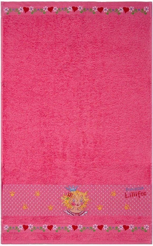 Handtuch Set, Prinzessin Lillifee, »Lillifee«, mit Motiven