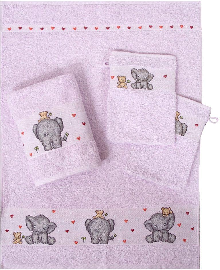 Handtuch Set, Dyckhoff, »Elefant«, mit Elefantenbordüre
