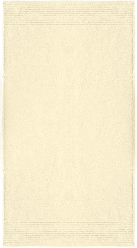 Handtücher, Dyckhoff, »Brillant«, feine Streifenbordüre in sekt