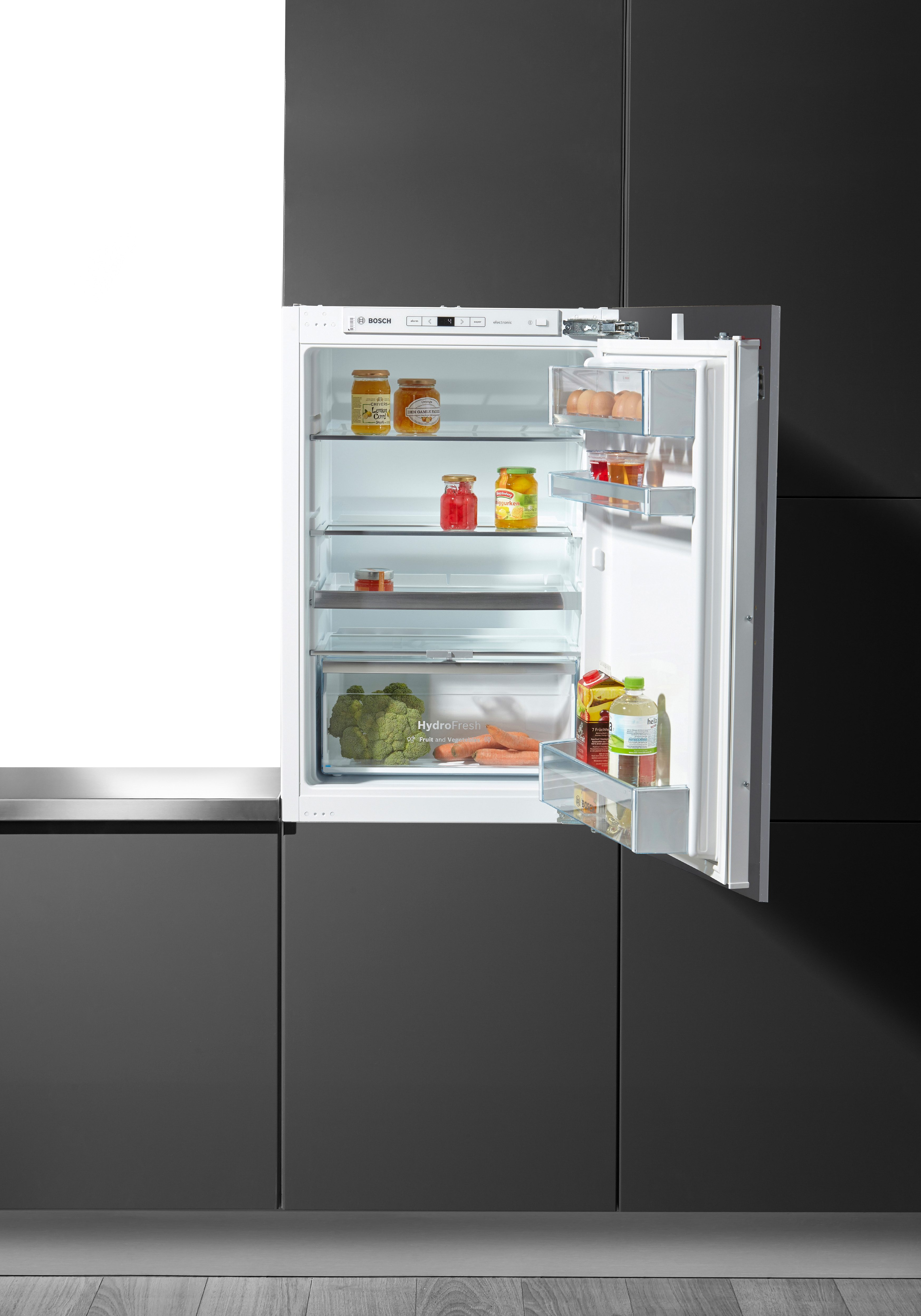 BOSCH Einbaukühlschrank KIR21AD40, 87,4 cm hoch, 55,8 cm breit, A+++, 88 cm hoch, integrierbar