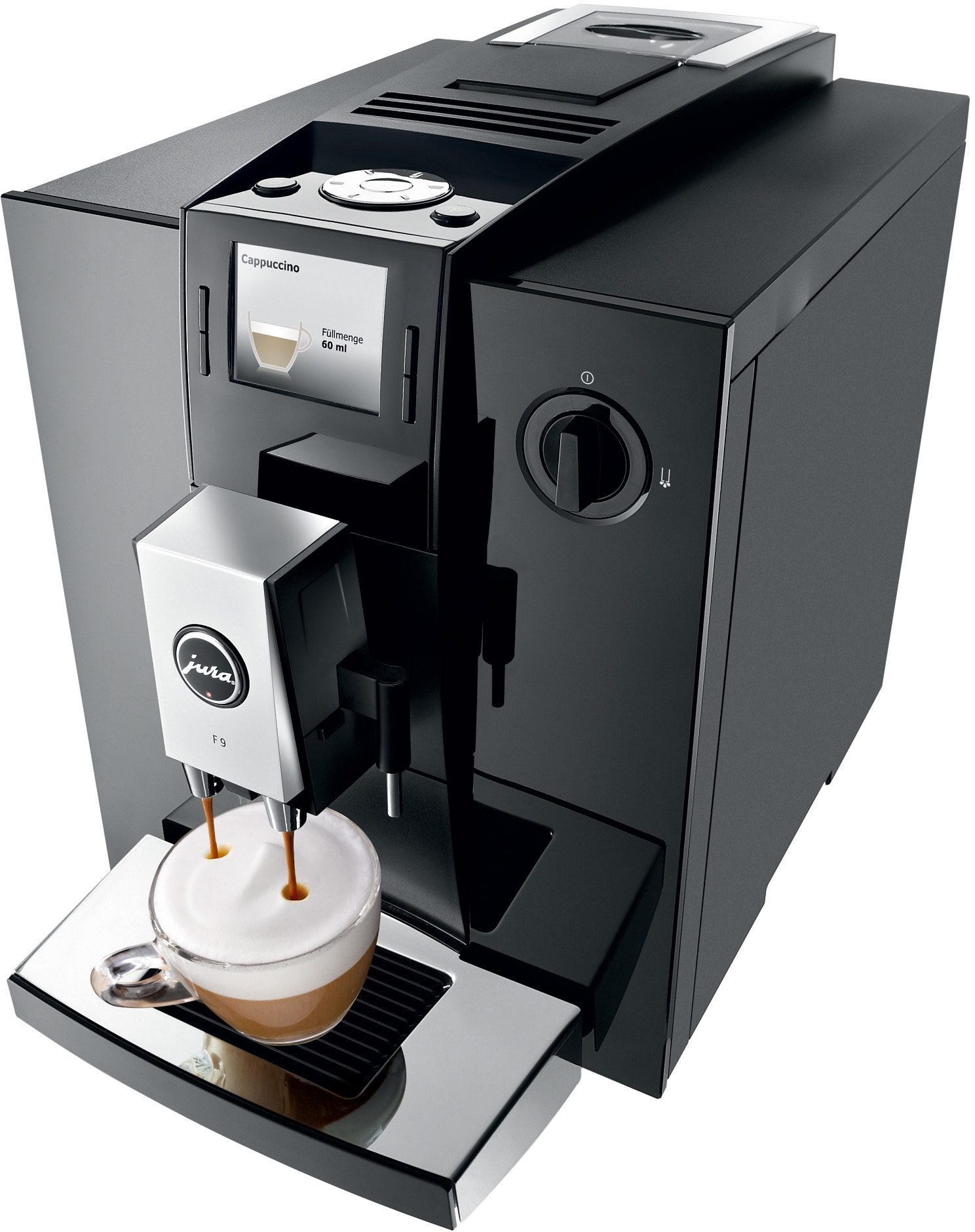 JURA Espresso-/Kaffee-Vollautomat 15127 Impressa F9