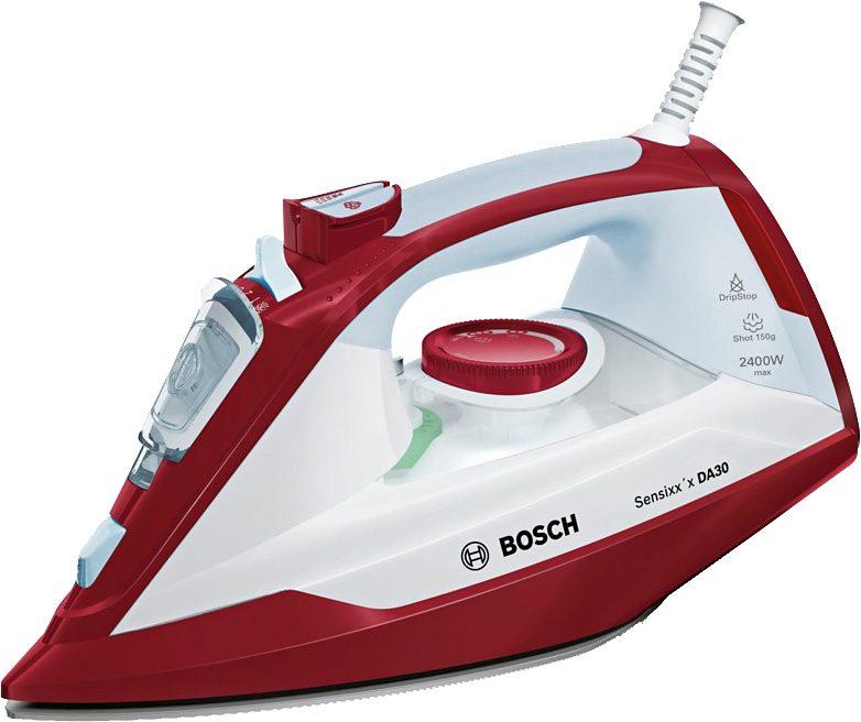 Bosch Bügeleisen Sensixx'x DA30 TDA3024010, 2400 Watt, rot