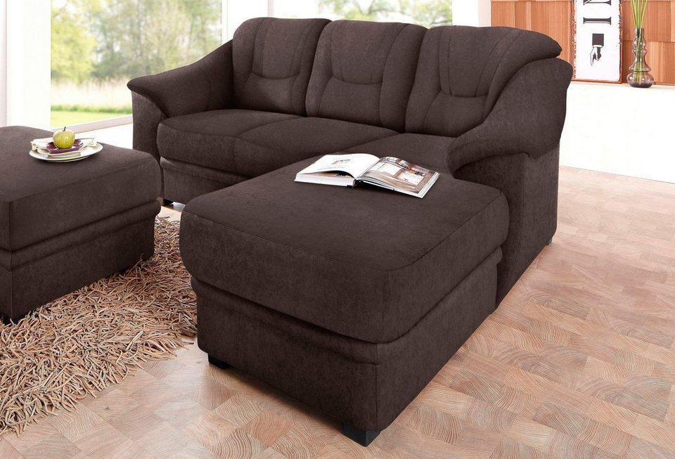 sit more polsterecke mit federkern online kaufen otto. Black Bedroom Furniture Sets. Home Design Ideas