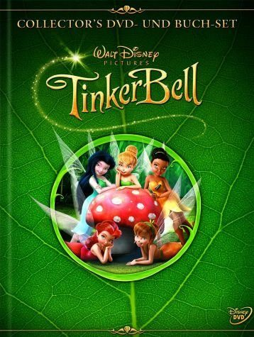DVD »TinkerBell (Collector's Pack + Buch)«