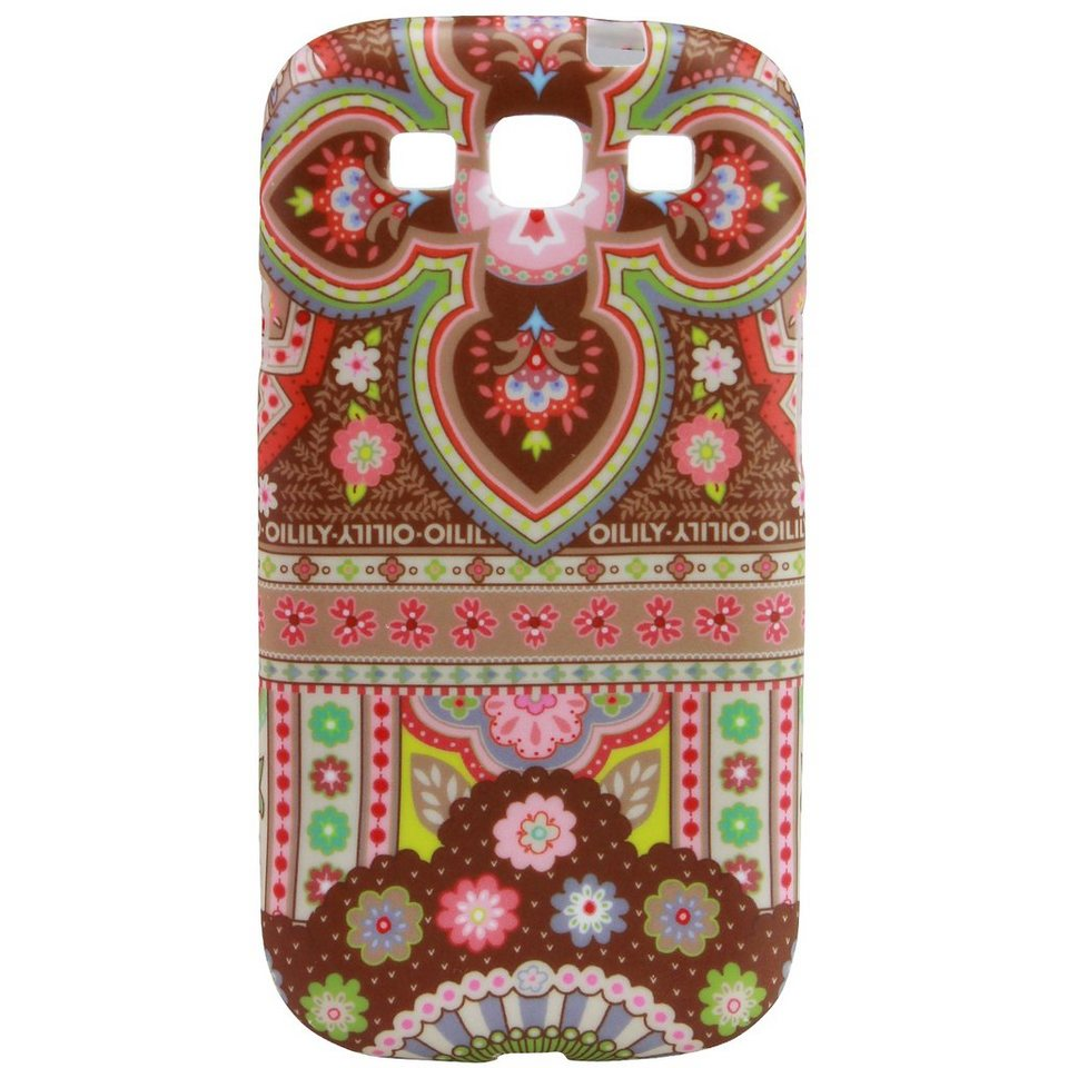 OILILY Smartphone Cases Handyhülle für Sony Galaxy SIII in cappuccino