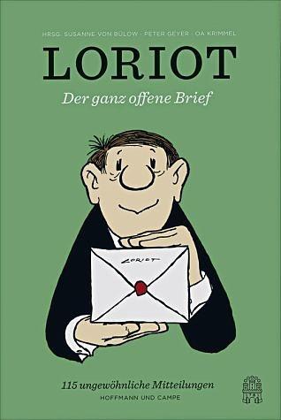 Gebundenes Buch »Der ganz offene Brief«