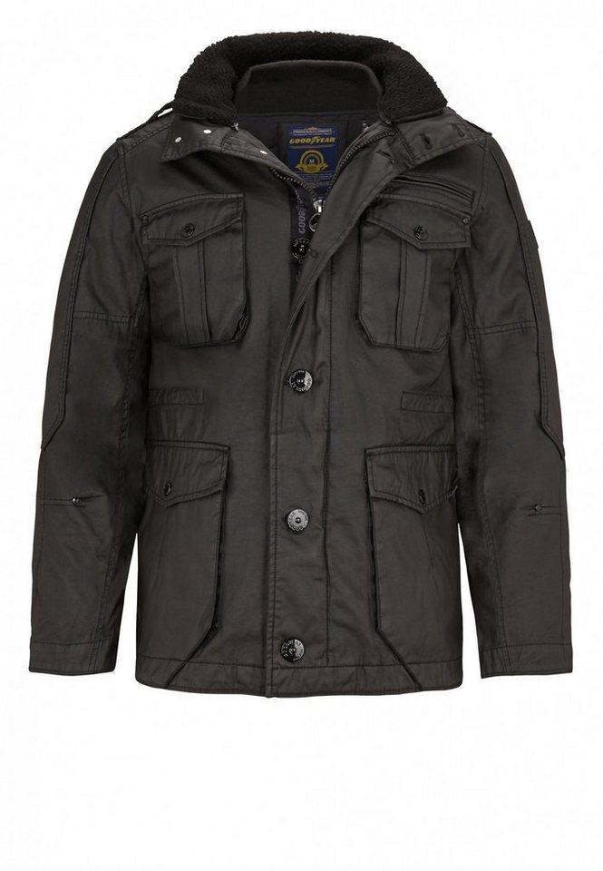 Goodyear Jacke in Black