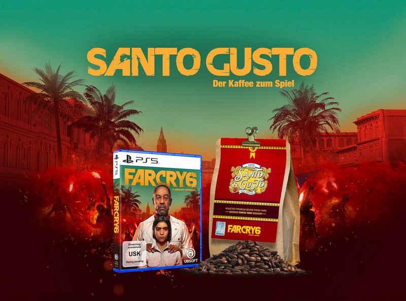 Far Cry 6 PlayStation 5, inkl. 1kg Santa Gusto Kaffee