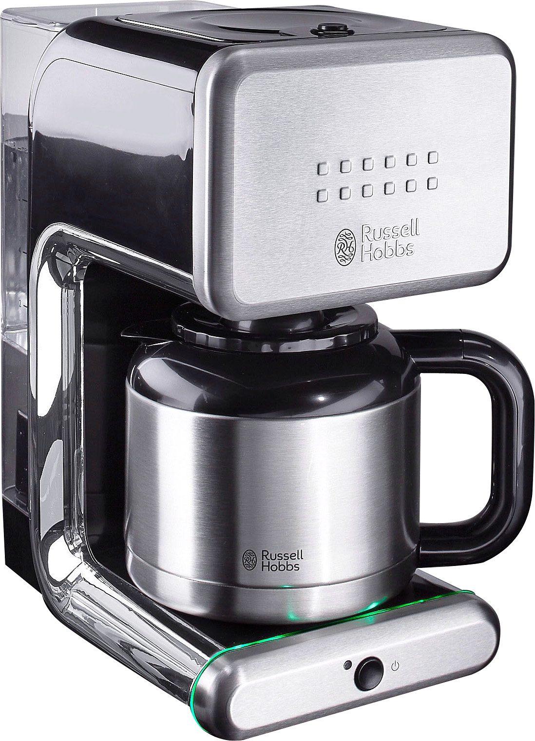 RUSSELL HOBBS Filterkaffeemaschine Illumina 20181-56, 1,1l Kaffeekanne, Papierfilter 1x4