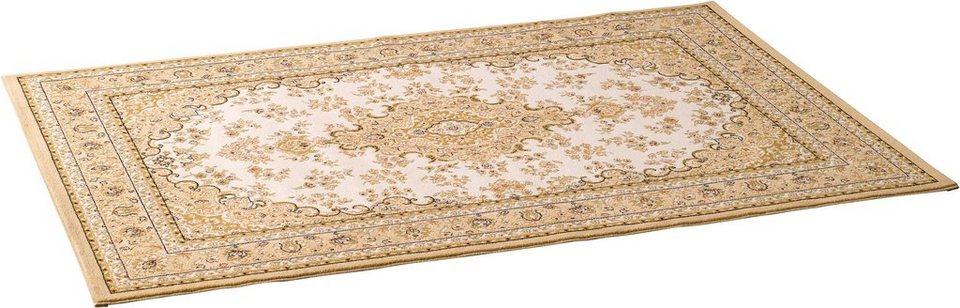 Orientteppich »Kashmir«, Hanse Home, rechteckig, Höhe 12 mm, Perser-Optik in beige