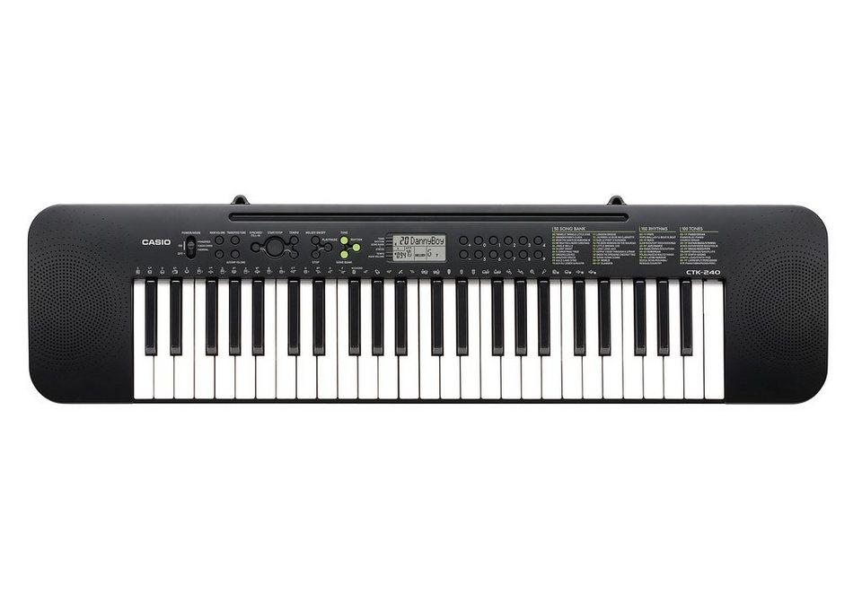 Casio® Set: Keyboard + Netzteil, »CTK-240 + Netzteil«