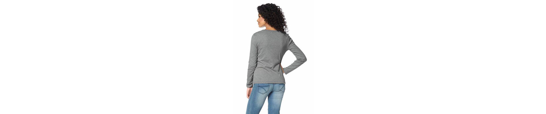 Boysen's Langarmshirt (Packung, 2er-Pack), mit Raffung