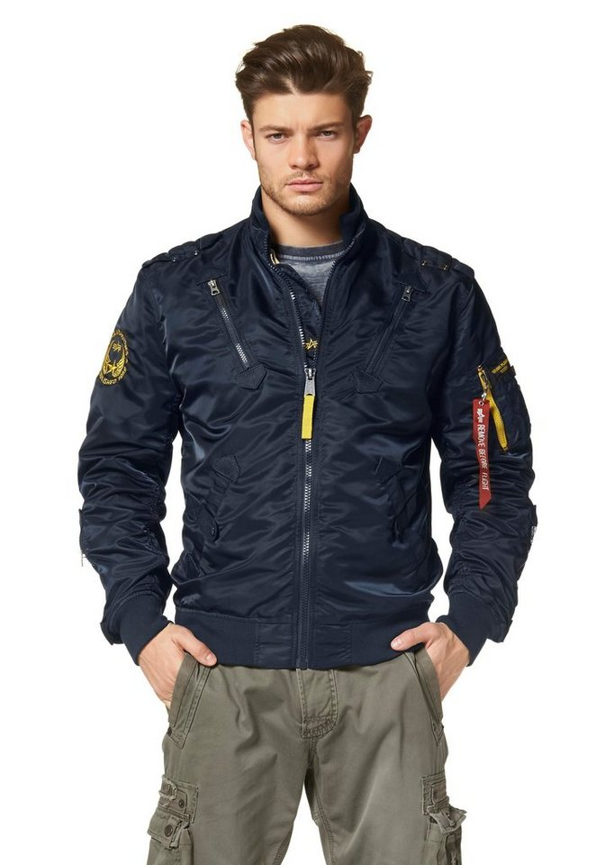 Alpha Industries Blouson »Falcon II« in dunkelblau