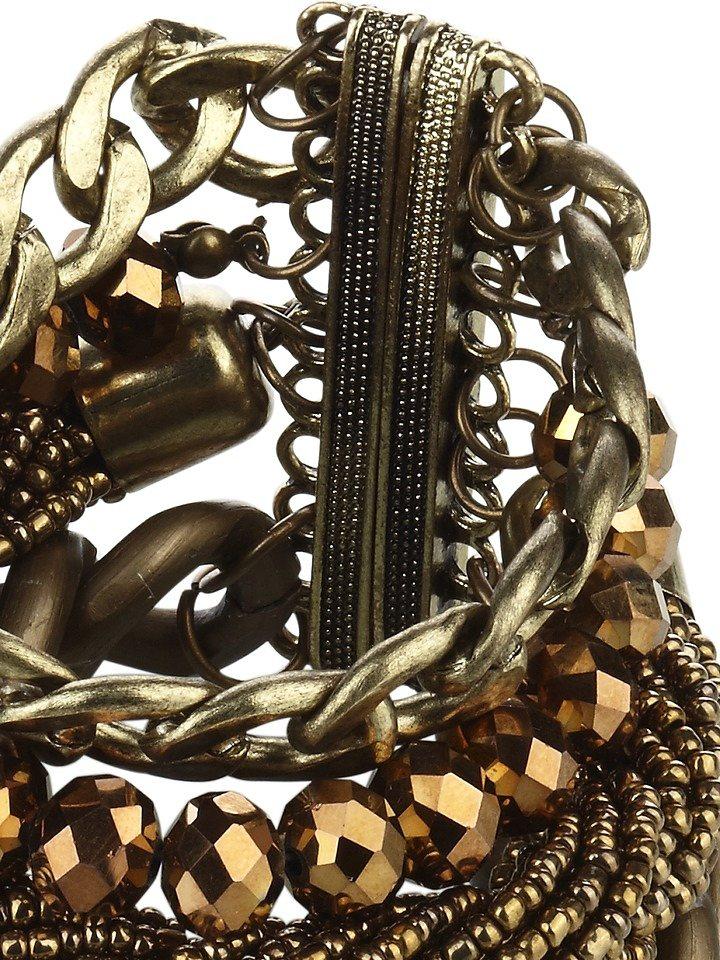 Heine Armband in antikgoldfarben
