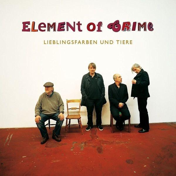 Audio CD »Element of Crime: Lieblingsfarben Und Tiere«
