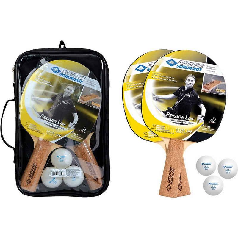 Donic-Schildkröt Tennisschläger »TT-Schläger Persson 500 Kork Set«