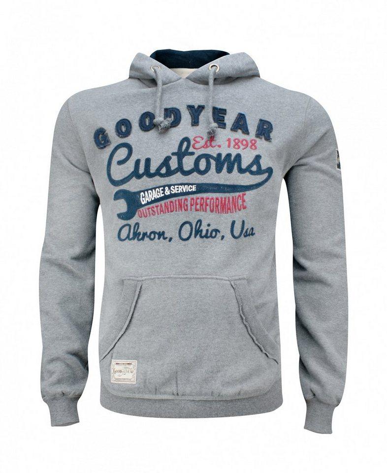 Goodyear Hoodie OREGON »OREGON« in Marl Grey
