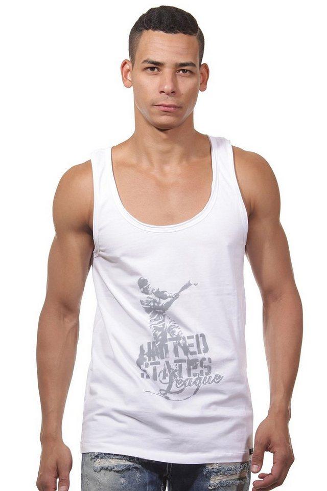 OBOY Streetwear U59 Athletikshirt in weiss