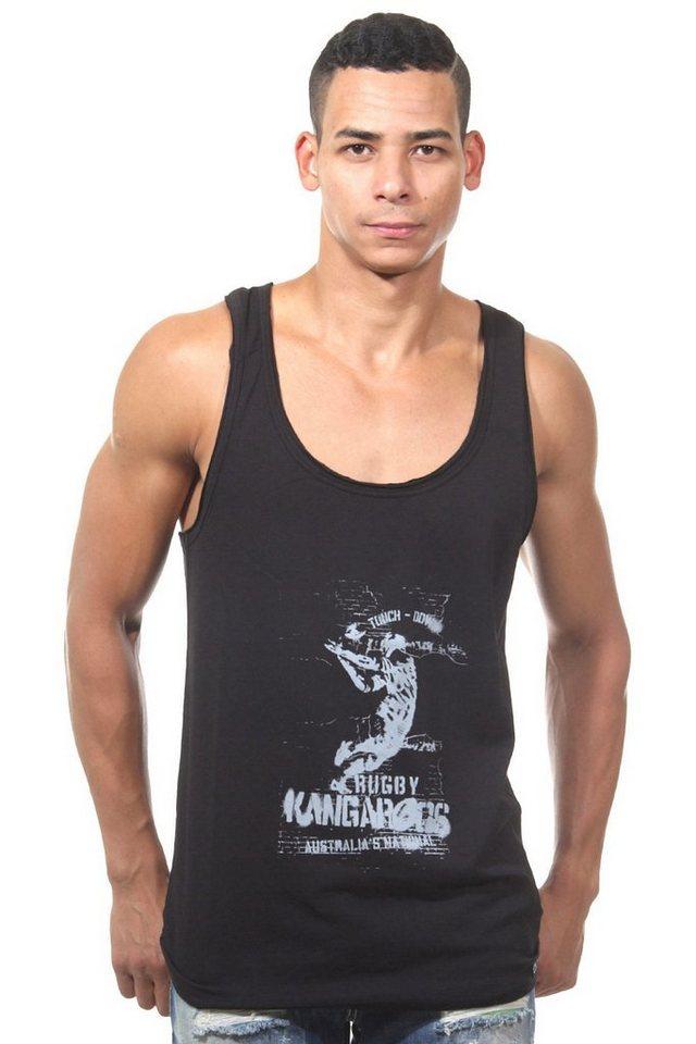 OBOY Streetwear U59 Athletikshirt in schwarz