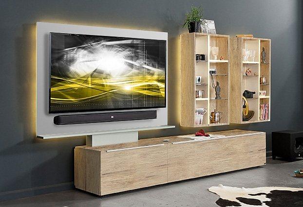 Weiss Holzfaserplatte Wohnwände Online Kaufen Möbel Suchmaschine