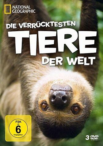 DVD »National Geographic - Die verrücktesten Tiere...«
