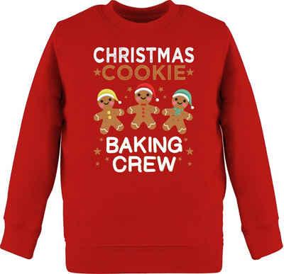 Shirtracer Sweatshirt »Christmas Cookie Baking Crew - 3 Kekse - Weihnachten Kinder Geschenk - Kinder Premium Pullover« Weihnachtsgeschenk Christmas Deko