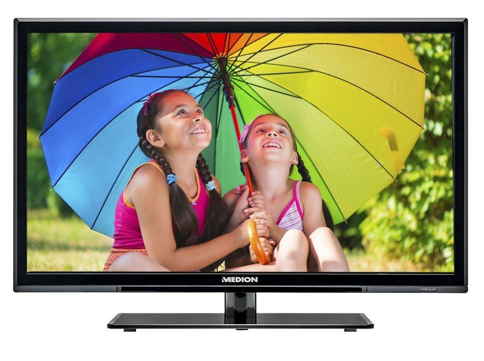 "MEDION® 59,9cm (23,6"") LED-Backlight TV »LIFE® P12236, HD Triple Tuner, Full HD« in schwarz"