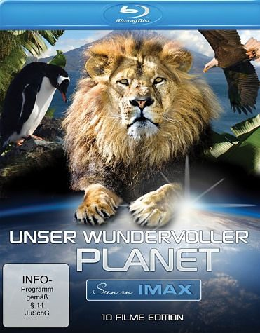Blu-ray »Seen on IMAX - Unser wundervoller Planet (3...«