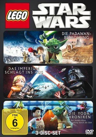 DVD »Lego Star Wars: Die Padawan Bedrohung / Das...«