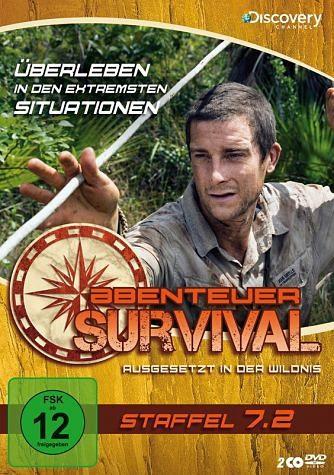 DVD »Abenteuer Survival - Staffel 7.2 (2 Discs)«