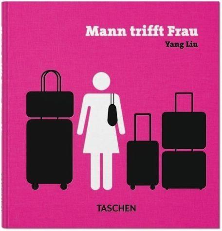 Buch mit Leinen-Einband »Mann trifft Frau«