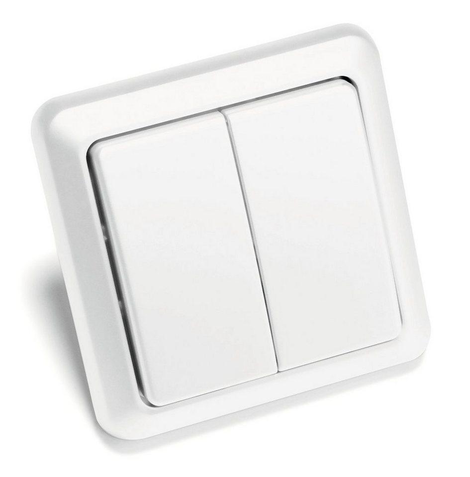 intertechno - Smart Home - Energie & Komfort »ITW-852 Funk Wandsender / Schalter« in weiss