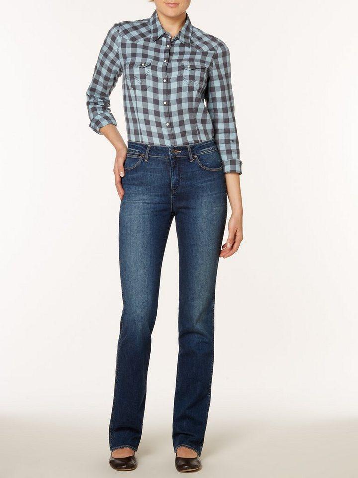 Wrangler Jeans »Tina Scuffed« in Scuffed Indigo