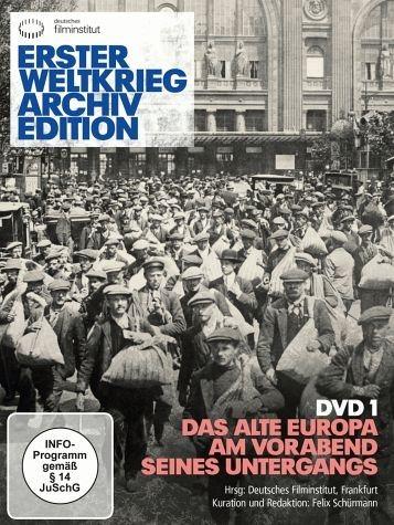 DVD »Erster Weltkrieg Archiv Edition, DVD 1 - Das...«